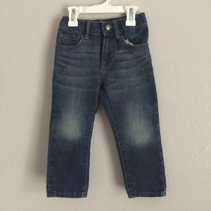 Baby GAP Medium Wash Straight Denim Blue Jeans
